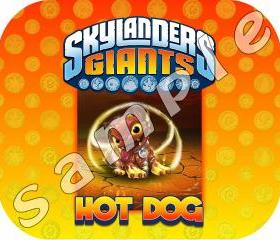Skylander Giants HOT DOG Mousepad