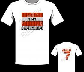 Minecraft TNT Personalized T-Shirt