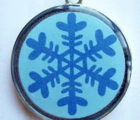 Snowflake Holiday Pet ID Tag