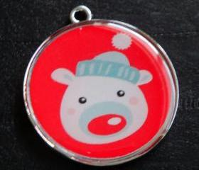 Christmas Critters no.1 Pet ID Tag