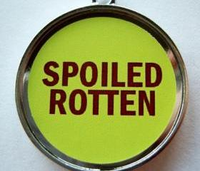 Spoiled Rotten Pet ID Tag