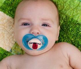 Nana Nana Boo Boo - Custom Hand Painted Pacifier