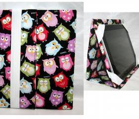Ipad Case Ipad Sleeve Stand up iPad mini Owl Design
