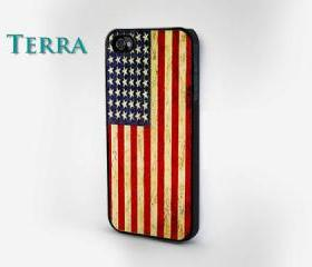 iPhone 5 case - Old American Flag