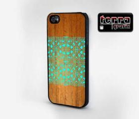 NEW iphone 5 case iphone 5 cover - Geometric Wood Grain Print - Cool iPhone Cases - Geometric