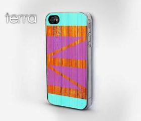 Geometric Wood Grain Print - iphone 5 cases Cool iPhone Cases- Cool iPhone Cases - Geometric