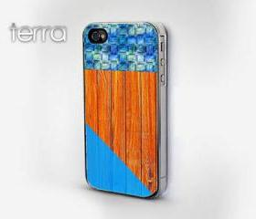 Wood Grain Geometric Print iphone 5 cases Cool iPhone Cases- Cool iPhone Cases - Geometric