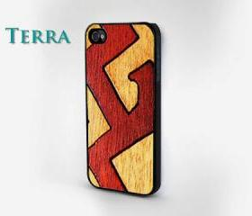 Wood Puzzle Print - iphone 5 cases -plasticCool iPhone Cases- Cool iPhone Cases