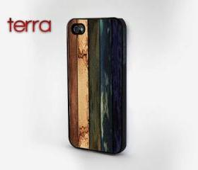NEW iphone 5 case iphone 5 cover Colorful Weathered Wood PrintCool iPhone Cases- Cool iPhone Cases