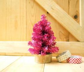 Small Christmas tree, PINK