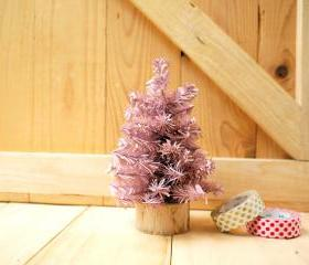 Small Christmas tree, Pastel Pink