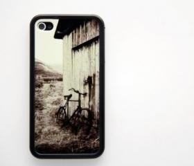 Vintage Bicycle iPhone 4 and iPhone 4S Rubber Case