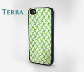 iphone5 case - Diamond Geometric Green and White iphone case