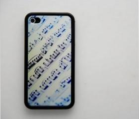 Music Sheet iPhone 4 and iPhone 4S Rubber Case