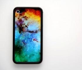 Vintage Galaxy iPhone 4 and iPhone 4S Rubber Case
