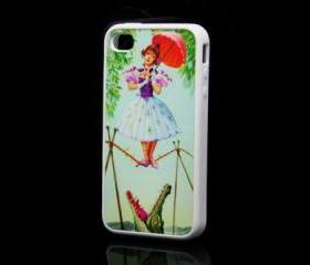 Haunted Mansion Printing iPhone 4 and iPhone 4S Rubber Case