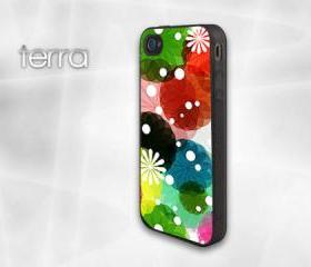 Floral Design - iphone 5 cases -iPhone cover - plasticCool iPhone Cases- Cool iPhone Cases