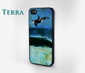 Ocean & Orca Print - iphone 5 cases Cool iPhone Cases- Cool iPhone Cases