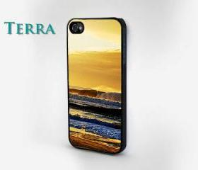 Beach Print - iphone 5 cases ocean wavesCool iPhone Cases- Cool iPhone Cases