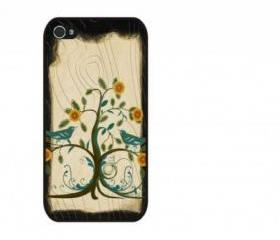 Vintage Tree iPhone 4 and iPhone 4S Rubber Case