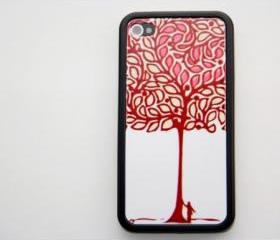 Lucky Tree iPhone 4 and iPhone 4S Rubber Case