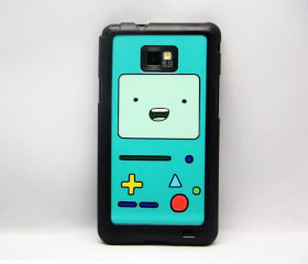 Adventure Time Beemo BMO Galaxy S2 i9100 Hard Cover Case