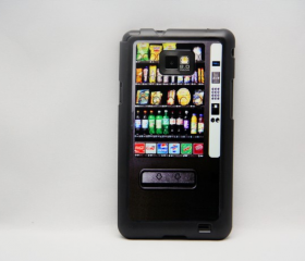 Vending machine Galaxy S2 i9100 Hard Cover Case