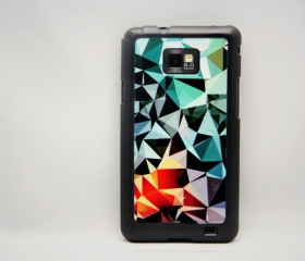 Glossy Pattern Galaxy S2 i9100 Hard Cover Case