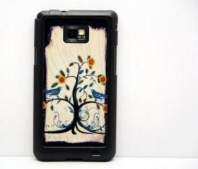Vintage Tree Galaxy S2 i9100 Hard Cover Case