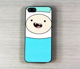Adventure time Finn iPhone 5 Case,Rubber Case or Hard Plastic Case
