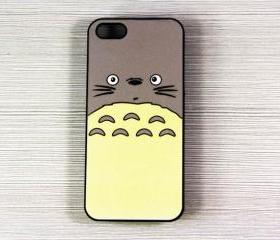 Totoro My neighbor iPhone 5 Case,Rubber Case or Hard Plastic Case