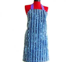 Fun and Functional Denim Apron