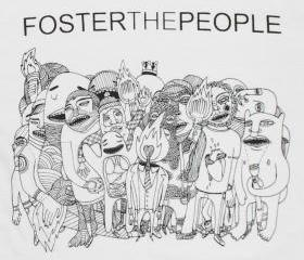 Foster The People Unisex T-shirt size L