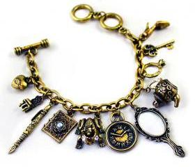 Vintage Gold Royal Charms Bracelet