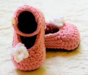 Crochet Patterns PDF My Oh My Mary Janes Pattern number 100