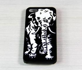 Geek Elephant iPhone 5 Case,Rubber Case or Hard Plastic Case