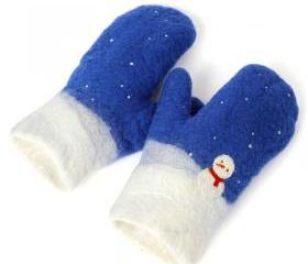 Original Design Wool Gloves