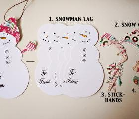 SnowmanTags Kit