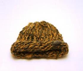 Nature Child Deep Tan, Grey Beanie Hat