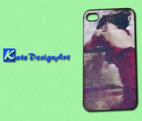 iphone 4s case/iphone 4 case/iphone 4s cover case - beauty girl iphone 4s case