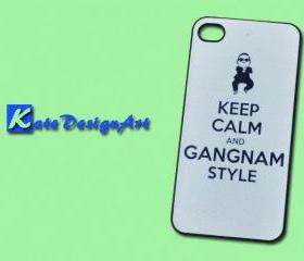 iphone case, iphone 4 case, iphone 4s case - gangnam style iphone 4s case/iphone 4 case