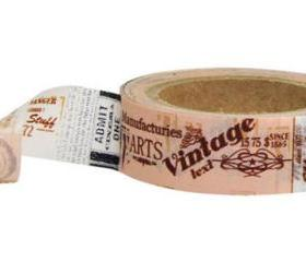 Vintage Ephemera Washi Tape