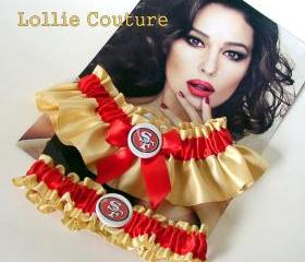 SF 49ers - Wedding Garter Set