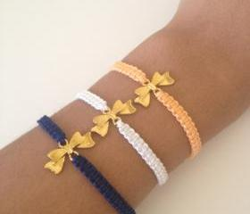 Bow Friendship Bracelet