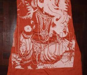 Long Dress Buddha OM Hindu Hamsa Yoga Clothing Ganesha Tee