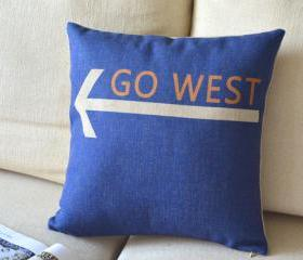 GO WEST Pillow