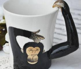 Orangutan Handmade Coffee Mug