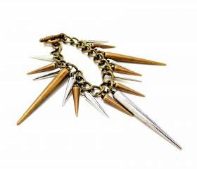 Metallic Spikes Bracelet