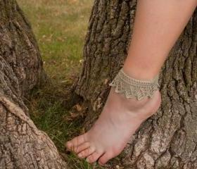 Aspens in the Wind - Lace Anklet