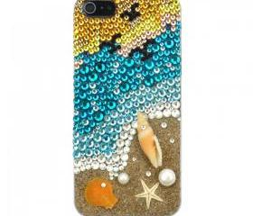 Handmade Coast Crystal Case for iPhone 5